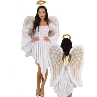 Čert - Mikuláš - Anděl - Kostým Anděl