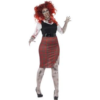 Halloween - Kostým Zombie školačka
