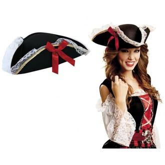 Piráti - Dámský pirátský klobouk