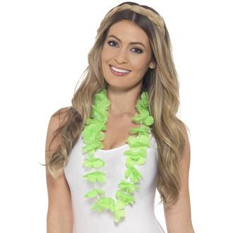 Havajské sukně - věnce - Havajský věnec zelený