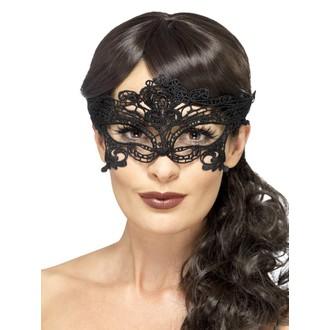 Masky - Škrabošky - Škraboška síťovaná černá