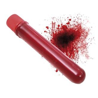 Doplňky na karneval - Ampulka s krví