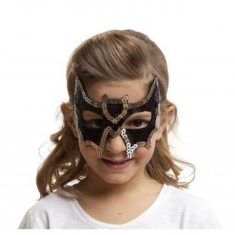 Masky - Škrabošky - Škraboška dětská netopýr