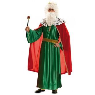 Kostýmy pro dospělé - Kostým Tři králové zelený
