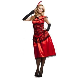 Kostýmy pro dospělé - Kostým Saloon lady