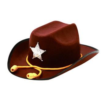 Párty dle tématu - Klobouk Sheriff se šňůrkou