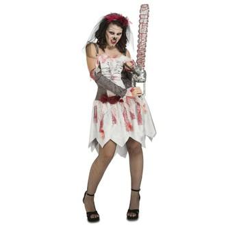 Halloween - Kostým Zombie nevěsta