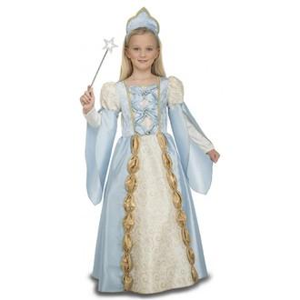 Kostýmy pro děti - Dětský kostým Modrá princezna