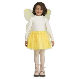 Kostýmy pro děti - Dětská sada Žlutý motýlek