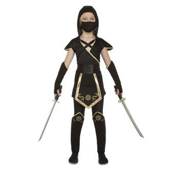 Kostýmy pro děti - kostým Černý Ninja pro holky
