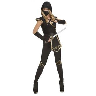 Kostýmy pro dospělé - Kostým Černý Ninja - dámský