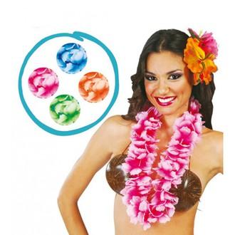 Havajské sukně - věnce - zelený havajský věnec