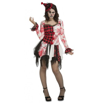 Halloween - dámský kostým klauna na Halloween