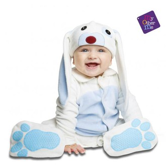 Kostýmy pro děti - miminkovský  kostým Modrý králíček