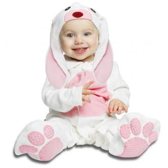 Kostýmy pro děti - miminkovský kostým Růžový králíček