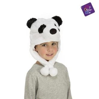 Klobouky - čepice - čelenky - Čepice Panda