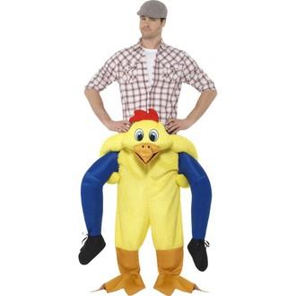 Kostýmy pro dospělé - Pánský kostým Kuře únosce