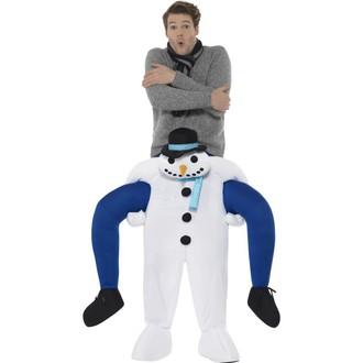 Kostýmy pro dospělé - Kostým Sněhulák únosce
