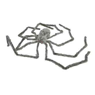 Doplňky na karneval - Chlupatý pavouk 230 cm svítící oči