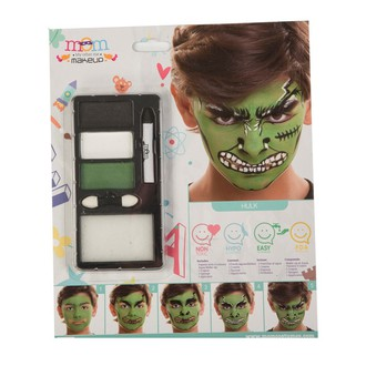 Líčidla - Make up - krev - Make up Sada Hulk
