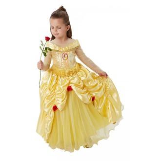 Kostýmy z filmů - Dětský luxusní kostým Princezna Bella