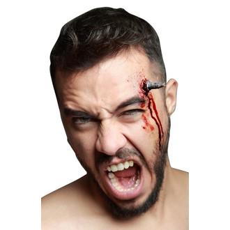 Doplňky na karneval - Zranění Hřebík v hlavě
