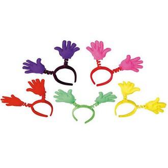 Výprodej  karneval - sleva až 70% - čelenka ruce mix barev