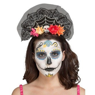 Doplňky na karneval - Čelenka Day of the death