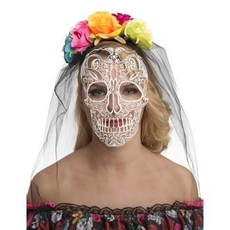 Doplňky na karneval - Čelenka se závojem Day of the death