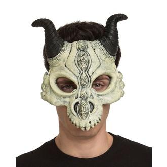 Čert - Mikuláš - Anděl - Obličejová maska Čertovská lebka
