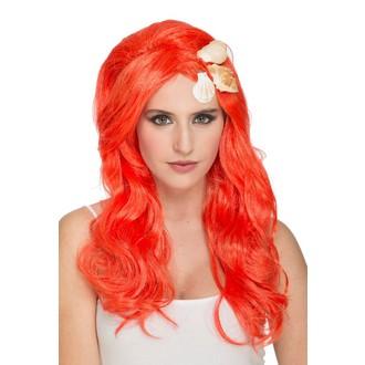 Paruky - Paruka Mořská panna oranžová