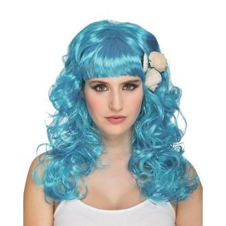 Paruky - Paruka Mořská panna modrá