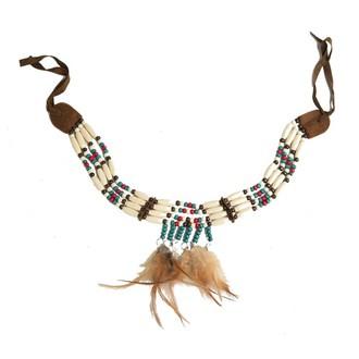 Doplňky na karneval - Indiánský náhrdelník
