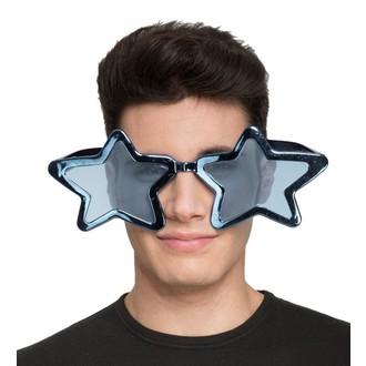 Doplňky na karneval - Brýle Velké modré hvězdy