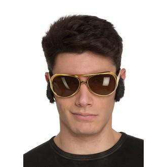Doplňky na karneval - Brýle Elvis s kotletami