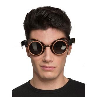 Doplňky na karneval - Brýle Steampunk černé