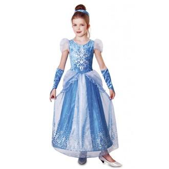 Kostýmy z filmů - Dětský kostým Ledová královna