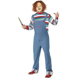 Kostýmy pro dospělé - Pánský kostým Chucky Childs play 2