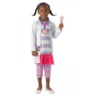 Kostýmy pro děti - Dětský kostým Doktorka plyšáková I