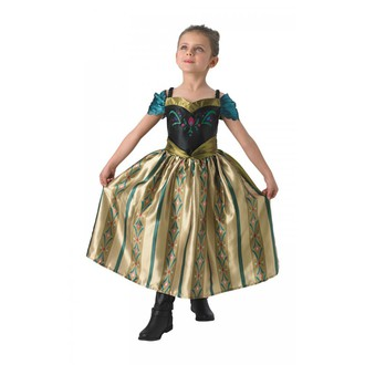 Kostýmy z filmů - Dětský kostým Anna korunovace