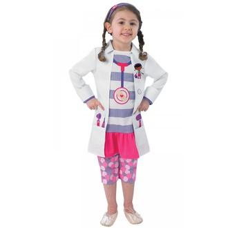 Kostýmy pro děti - Dětský kostým Doktorka plyšáková