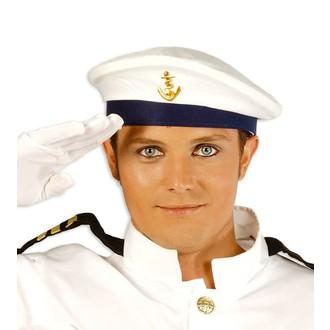 Klobouky - čepice - čelenky - čepice námořník - námořnická čepice