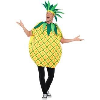Kostýmy pro dospělé - Kostým Ananas pro plnoštíhlé - unisex