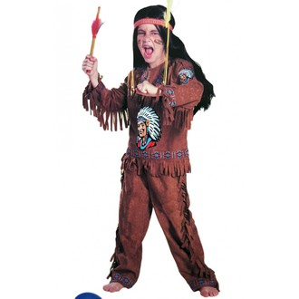 Výprodej  karneval - sleva až 70% - Dětský kostým indián