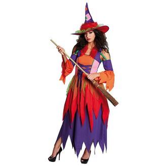 Čarodějnice - Čarodějnické šaty vel. 52