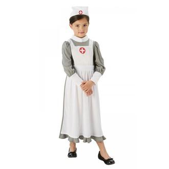 Párty dle tématu - Dětský kostým Sestřička z první světové války