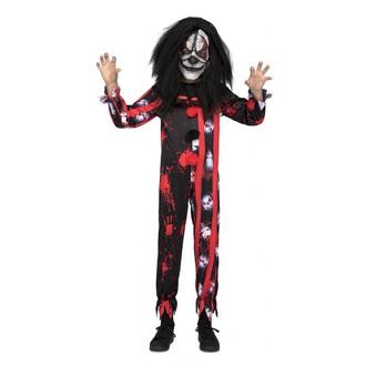 Halloween - Dětský kostým Hrozivý klaun