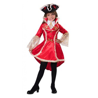 Kostýmy pro děti - dívčí pirátský kostým