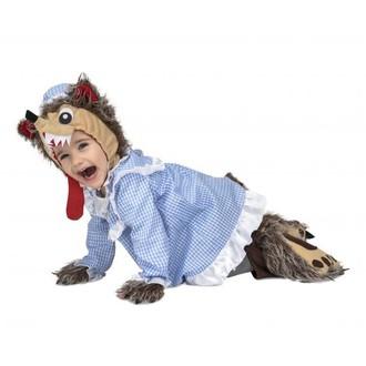 Kostýmy pro děti - kostým pro miminko - Vlk
