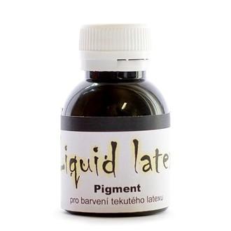 Líčidla - Make up - krev - Pigment do latexu černý